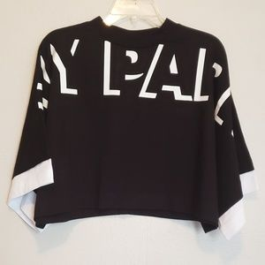 IVY PARK Crop Crew Oversized Logo T-shirt NWT